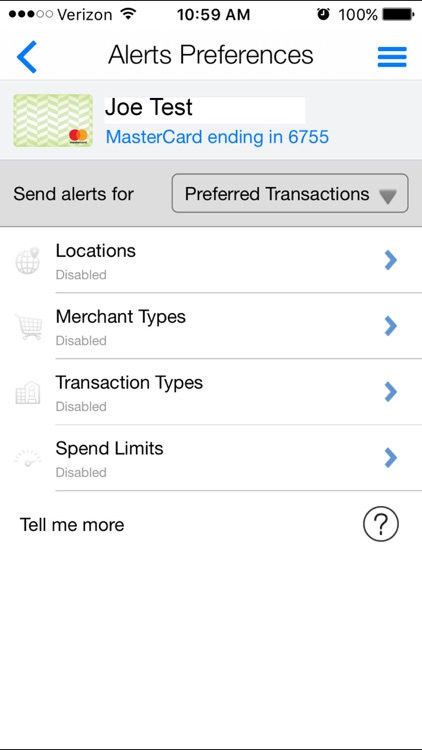 Nutmeg State FCU Card Manager screenshot-4