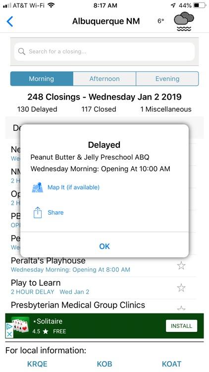RUClosed - school/work closed? screenshot-6