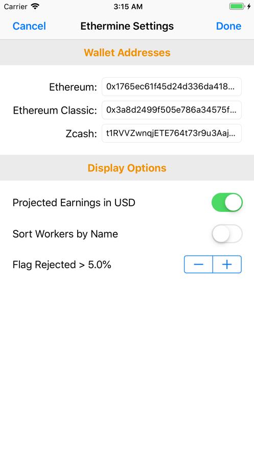 CoinDash App 截图