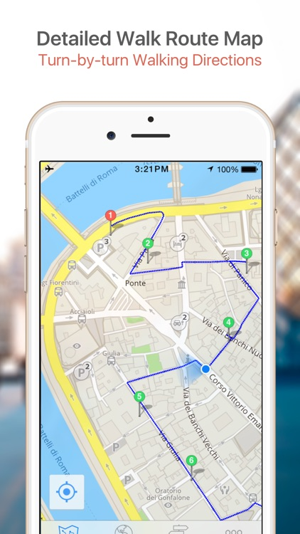 Ljubljana Map & Walks (F) screenshot-3