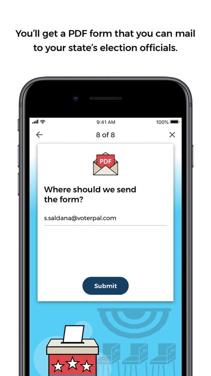 VoterPal - Register Today screenshot-3