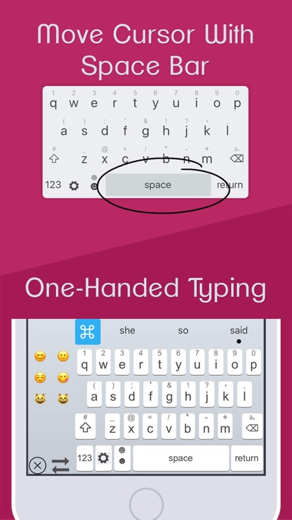 ReBoard Keyboard: Fonts+Themes screenshot-4