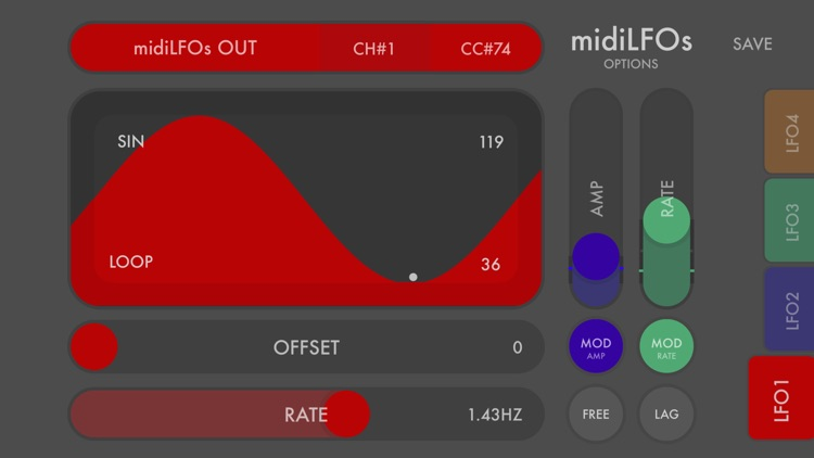 midiLFOs - midi modulator screenshot-0