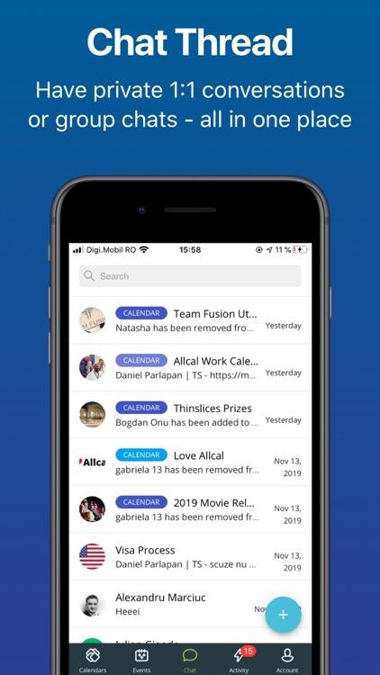 Allcal Event Planner + Tickets screenshot-5