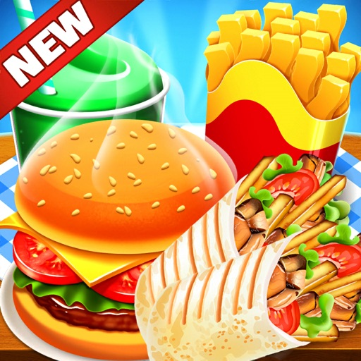 Cooking Game Burger Food Fever