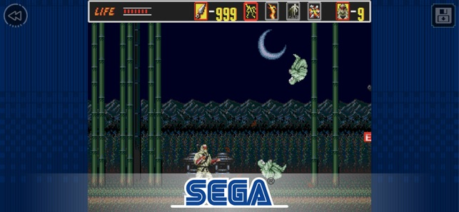‎The Revenge of Shinobi Classic Screenshot