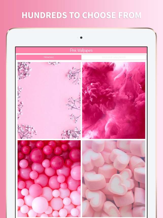 Pink Wallpapers For Girls On The App Store