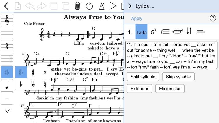 Music Notator screenshot-4