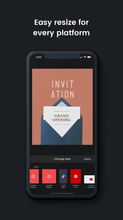 DesignLab Graphic Design Maker screenshot-5