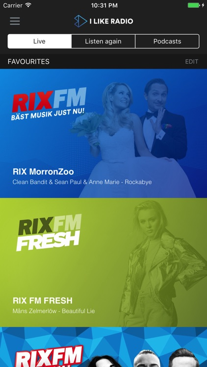 RIX FM screenshot-0