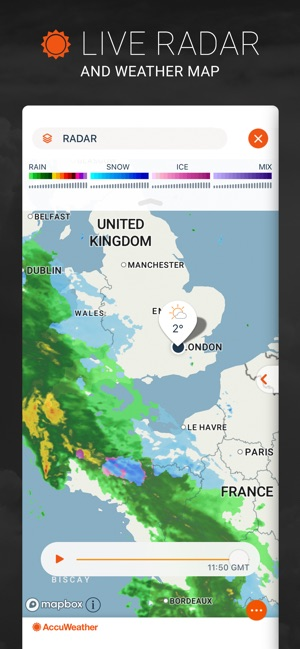 AccuWeather Live Weather Radar on the App Store