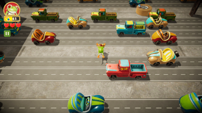 Frogger in Toy Town screenshot 2