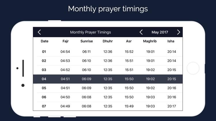 Qibla Compass & Prayer Times screenshot-4