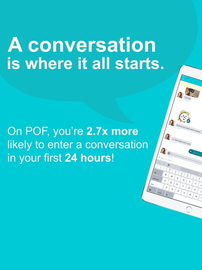 POF Dating Screenshot