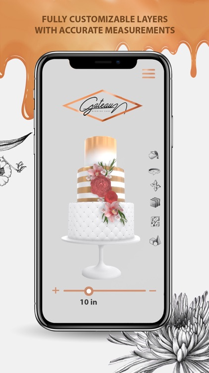 Gateau Wedding Cake Decorating screenshot-4
