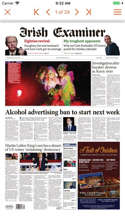 Irish Examiner ePaper screenshot-4