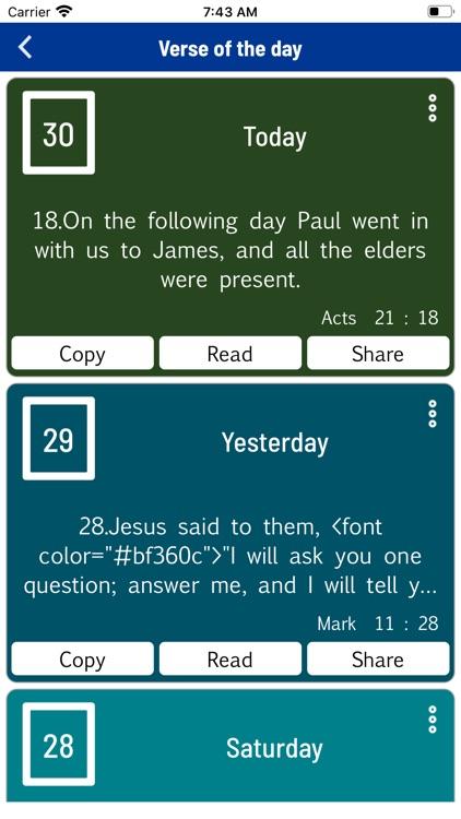 The Holy Bible, Louis Segond screenshot-9
