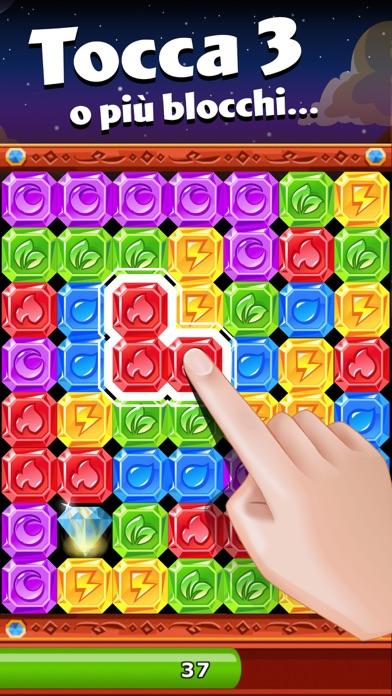 Diamond Dash: puzzle con gemme