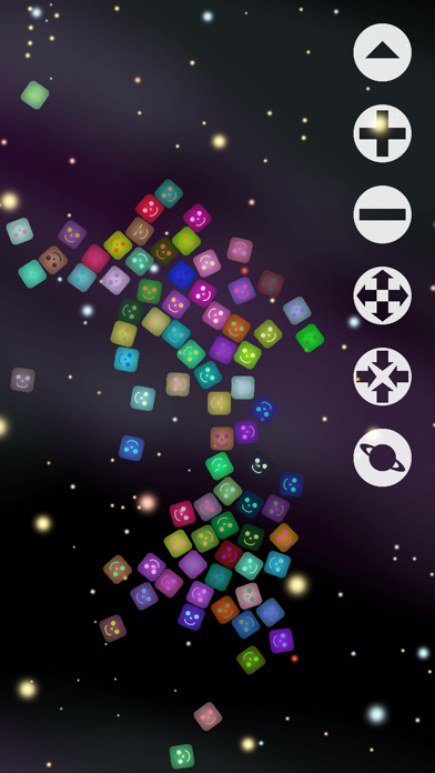 Jelly Cubes - From Outer Space screenshot one