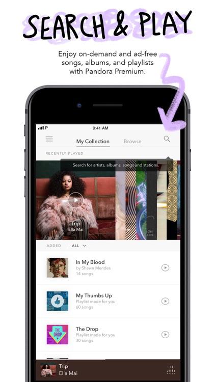 Pandora Music screenshot-5