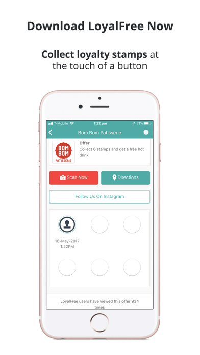 LoyalFree: Find deals & events screenshot four