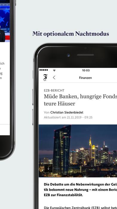 FAZ.NET - Nachrichten Screenshot