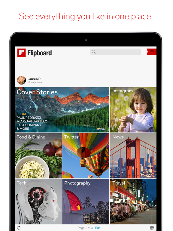 Flipboard - Latest Stories screenshot
