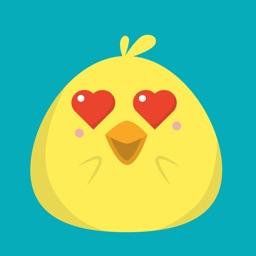 Chicken baby emoji