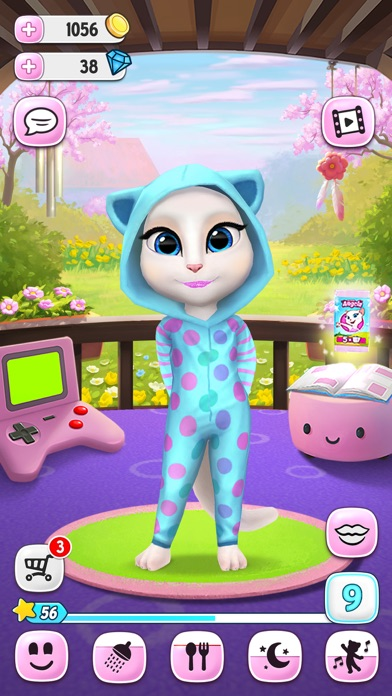 My Talking Angela free Diamonds hack