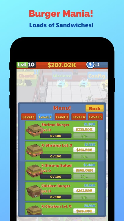 Burger Mania! - Idle Tycoon screenshot-7