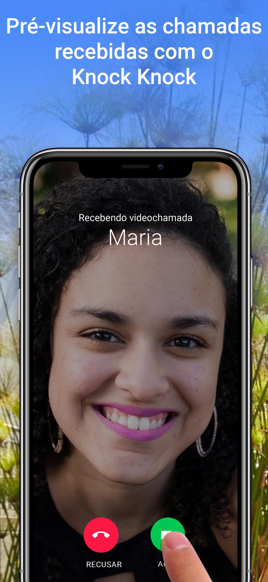 Screenshot do app Google Duo: videochamadas