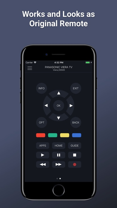 PanRC - Panasonic TV Remote App Report on Mobile Action