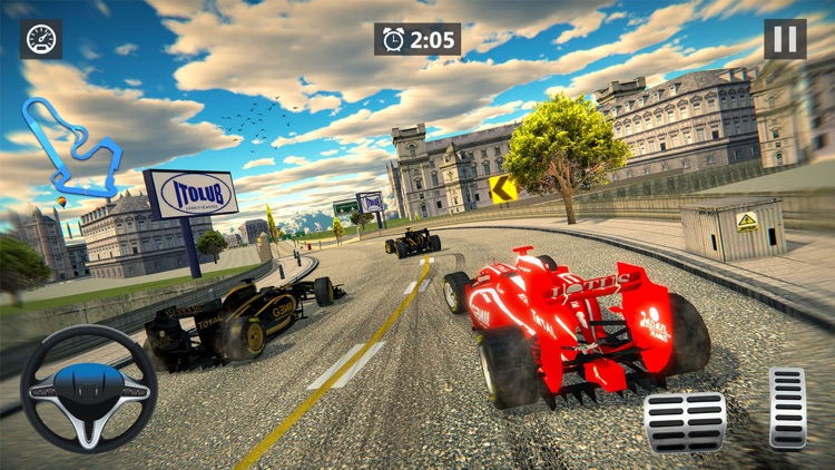 Formula Racing Car Racing Game