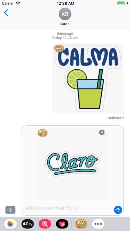 Spanish Stickers screenshot-3