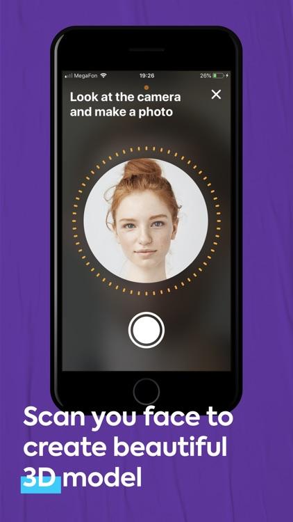 FaceHero - 3D avatar stickers