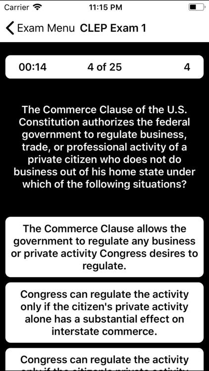 CLEP Business Law Prep 2020 screenshot-4