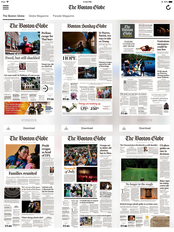 The Boston Globe ePaperのおすすめ画像3