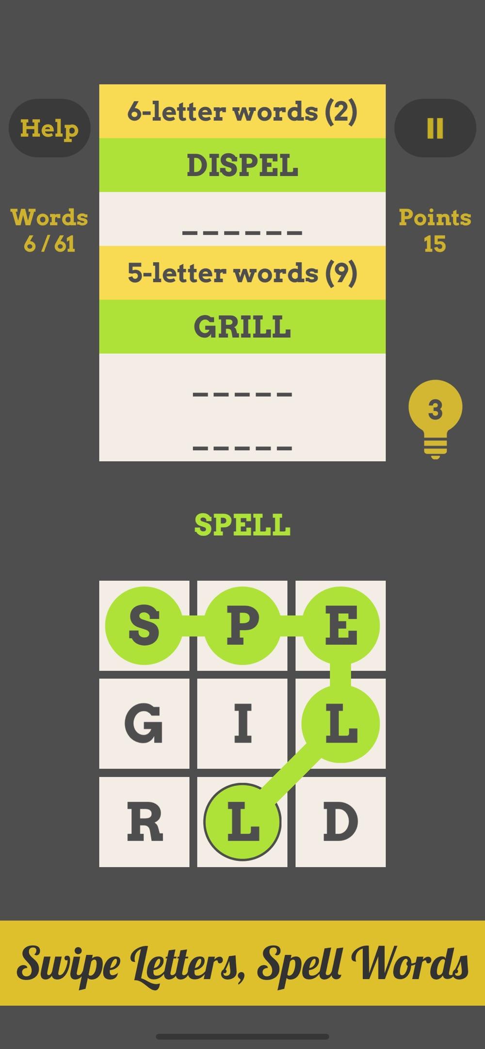 Spell Grid Cheat Codes