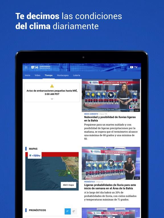 Univision 14 Área de la Bahía screenshot 10