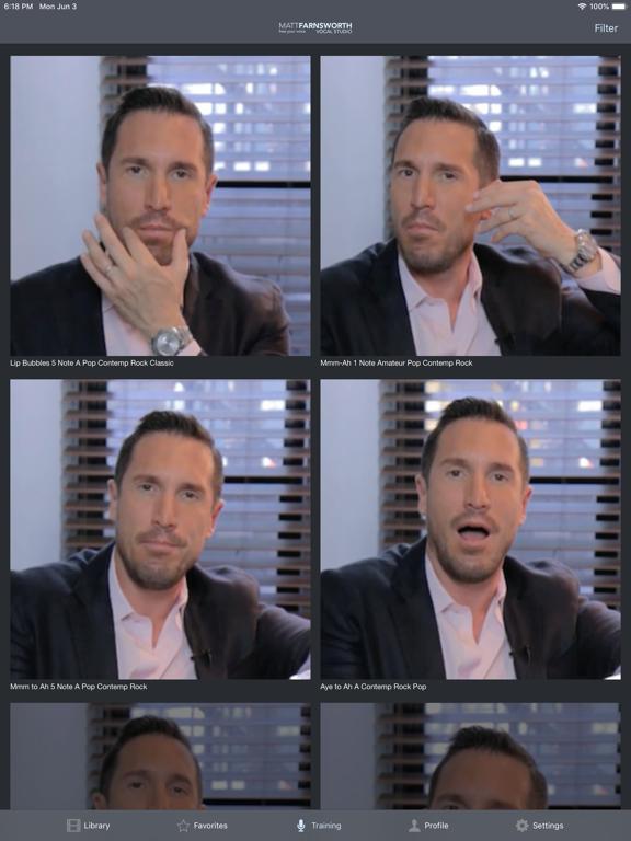 Matt Farnsworth Vocal Studio screenshot