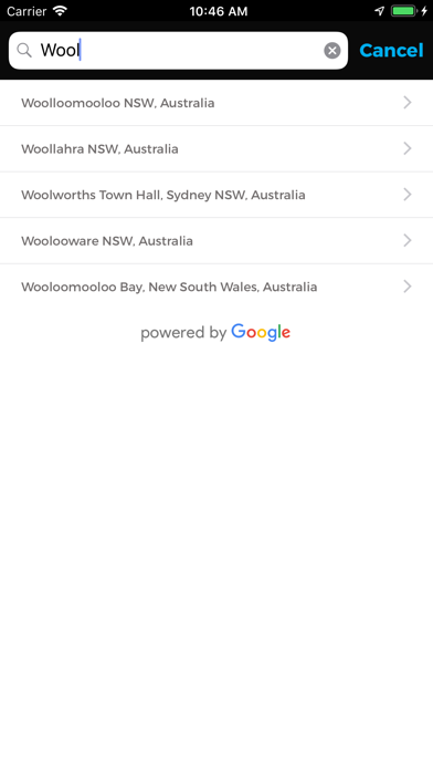 Illawarra Taxi Network screenshot three