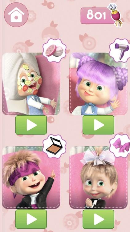 Masha and the Bear: Hair Salon screenshot-4