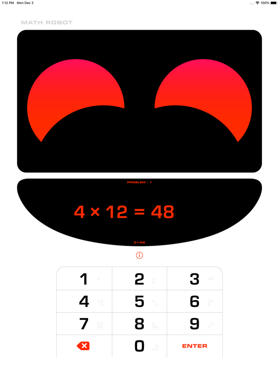 Math Robot™ iPad
