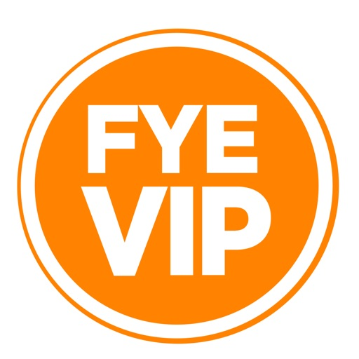 FYE Backstage Pass VIP