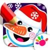 お絵かきと色塗り絵画 子供 ゲーム 2-6 - iPhoneアプリ