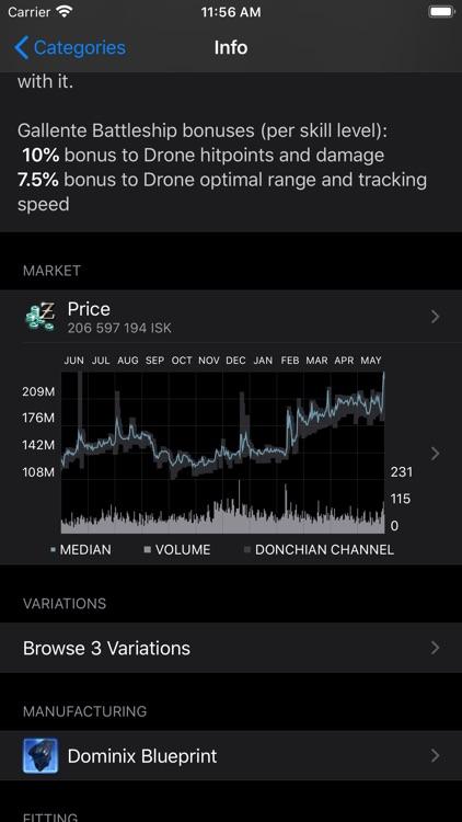 Neocom II for EVE Online screenshot-3