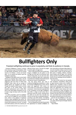 Western Horse Review Magazine - náhled