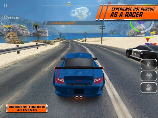 Need for Speed™ Hot Pursuit for iPad - Screenshot 3