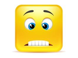 Yellow Square Smileys Emoticon