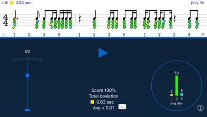 Screenshot #1 pour Rhythm Sight Reading Trainer